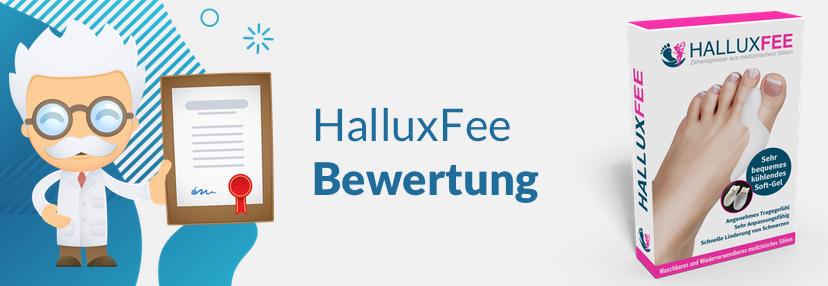 HalluxFee Bewertung