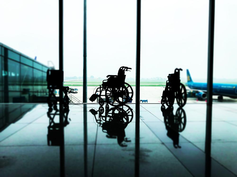 flughafen leihrollstuhl barrierefrei reisen